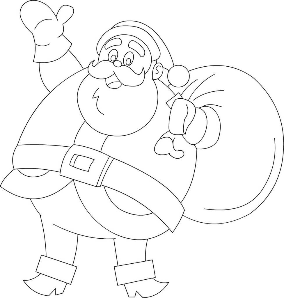 Coloring Pages Santa Arizona